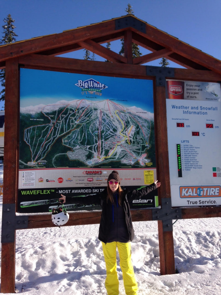 Big White Piste map