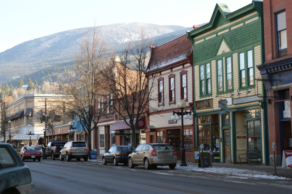 Downtown Nelson B.C - courtesy of BCgirltravels.com
