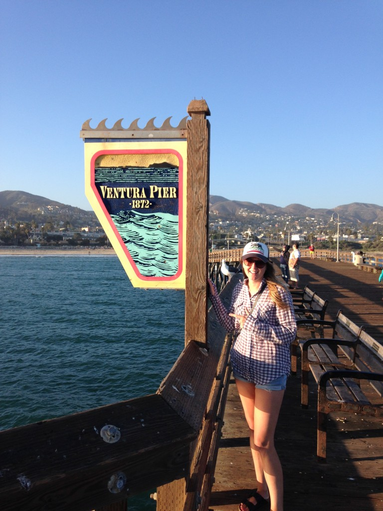 Me on the pier at Ventura